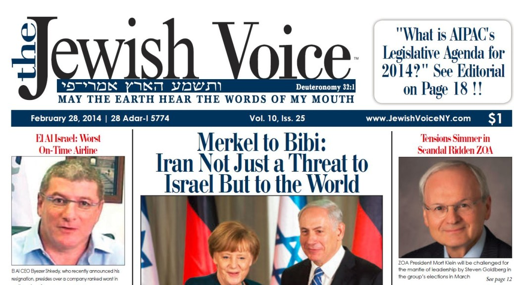 Mort Klein Exposed in The Jewish Voice